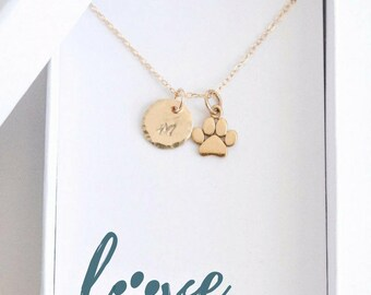 Personalized Dog Jewelry - Cat Jewelry - Custom Pet Necklace - Cat Lover Gift - Cat Lady Gifts - Cat Necklace - Personalized Pet Lover Gift