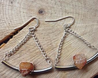 Agate Branch Earrings
