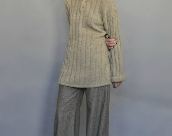 Oversized Knit Sweater Vintage 90s