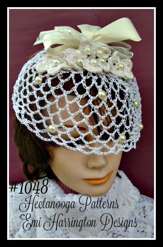 Birdcage bridal veil diy fascinator crochet pattern any birdcage bridal veil diy fascinator crochet pattern any length flower and veil instructions included wedding accessories diy 1048 solutioingenieria Images
