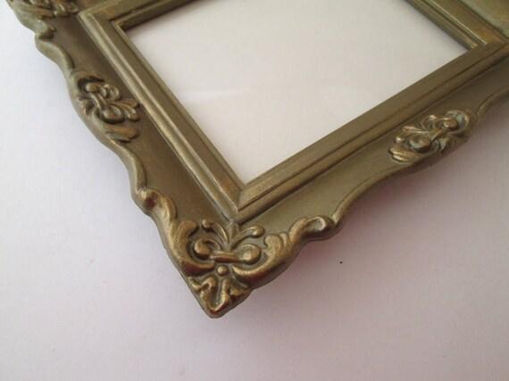 Picture Frame Set, 5x7 frame, Vintage Gold Photo Frame, 5x7 photo ...