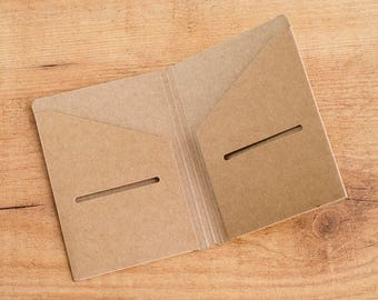 Carpeta kraft para Traveler's Notebook - TAMAÑO PASSPORT