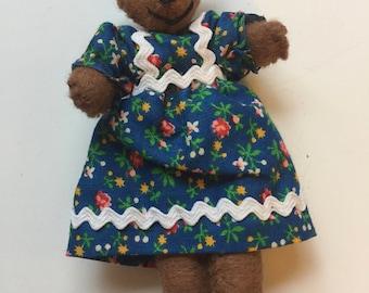 Blue Dress Bear