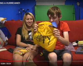 Jeffy SML Yellow Cinch Backpack