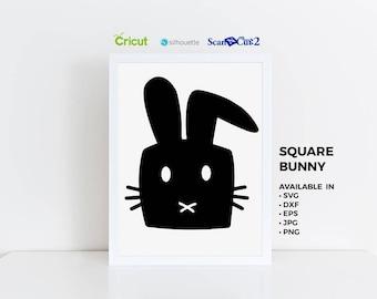 Bunny SVG, Cute Bunny Print, Bunny Ears, Bunny Clipart, Bunny Shirt, Bunny Print, Hand Drawn Clipart, Bunny Decal, Bunny Decor,  Bunny PNG