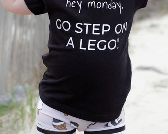 Go Step on a Lego Graphic Tee