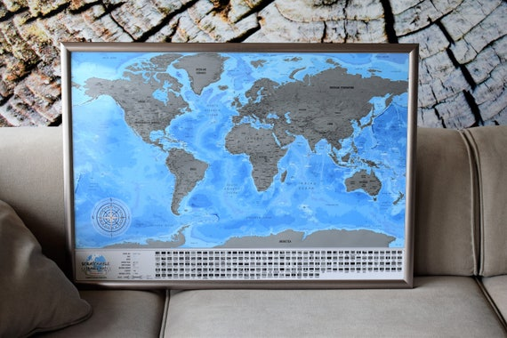 Scratchable map xxl map detailed scratch off map usa scratchable map xxl map detailed scratch off map usa divided into states world map poster vibrant colors scratch off maptraveler gift gumiabroncs Choice Image