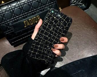 Iphone 7 Case, Iphone 8 Case, Black Case, Shine Case, Iphone 7Plus Case, Iphone 8Plus Case, Iphone 7 Case, Black Silver Case, Iphone 7Plus