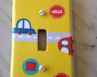 Cars Light Switch Cover