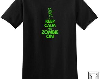 Keep Calm Zombie T-shirt