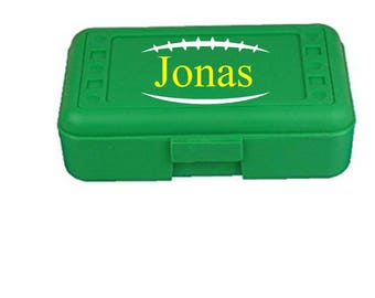 Back to School, Football, Sports Pencil Box, Kids Pencil Box, Kids School Supplies