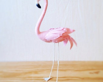 Pink flamingo sewing pattern