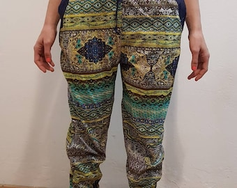 Printed Turkish trousers