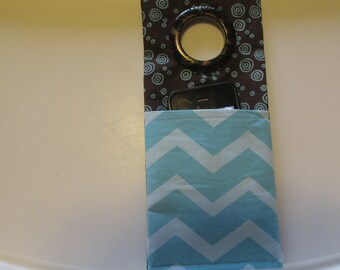 Iphone Docking Station, Cell Phone Charging Station, Turquoise IPod Charging Station, Car Cell Phone Holder