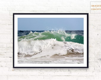 Large Beach Print - Coastal Decor - Printable Poster - Coastal Art - Large Download Prints - Digital Print - Beach Decor - Coastal Wall Art