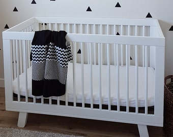 Black and White Baby Blanket