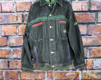 Vintage 90s Urban Denim Jacket