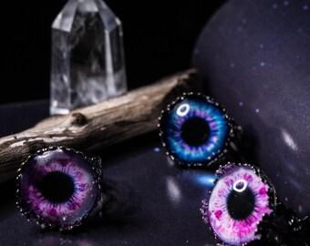Weird Rings - Blue Eyed Angel
