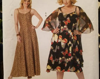 Butterick Pattern 5761 dress  Connie Crawford Miss Size Xsm-Xlg gown new uncut 2012