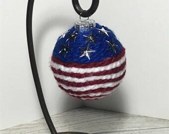 Handmade Patriotic Ornament