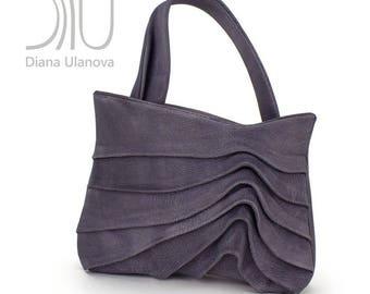 Grey TOTE BAG   Grey Shoulder Bag   Grey Leather Tote Bag   Leather Shoulder Bag   Leather Tote Bag   Shoulder Bags   Leather Tote Bag Reef