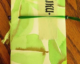 10 Haiku, a collection of a few of my haiku, letterpress printed