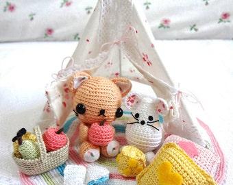 Cat Amigurumi Pattern, Amigurumi Crochet Pattern, Crochet Cat Pattern, Amigurumi Pattern, Crochet Animal Pattern, Amigurumi Cat Pattern