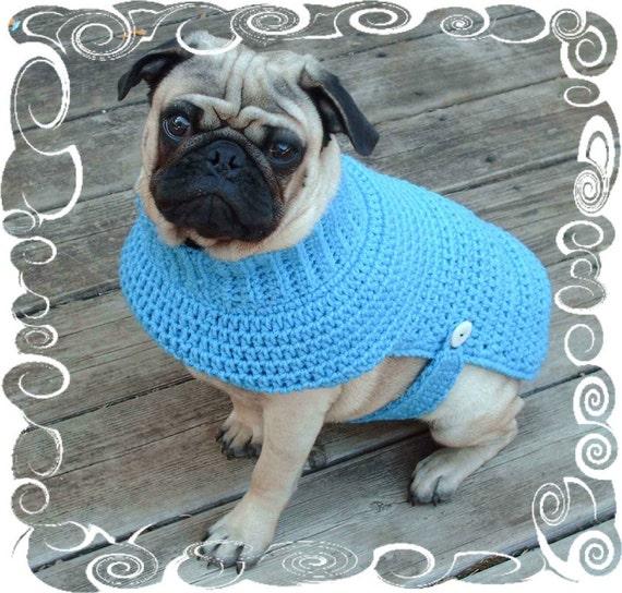 Ähnliche Artikel wie Hund Pullover häkeln Muster - Welpe Häkelmuster ...