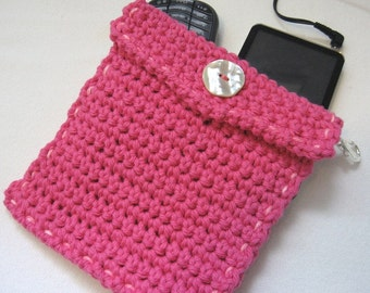 Hand Crocheted Makeup/Change Purse