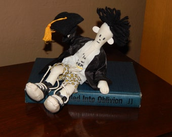 Fido Dido Posable Graduation Rag Doll 1992