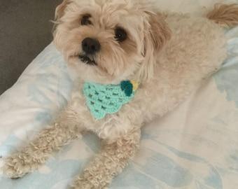 Australian Crochet Dog Bandana