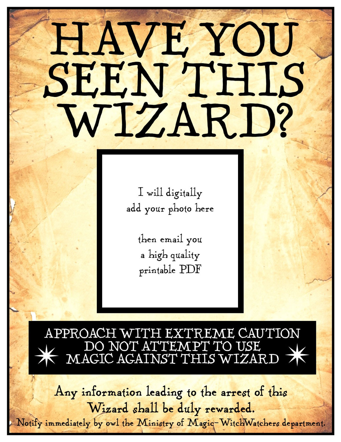 Have You Got Blue Eyes Learn What Make Up Will Make Them: Have You Seen This Wizard 8 1/2 X 11 Inch Digital PDF