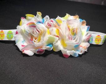 Easter Egg Flower Headband