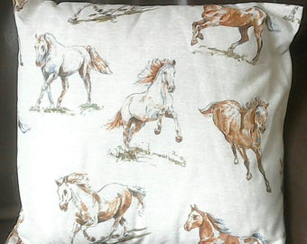Beautiful Horse Print Cushion