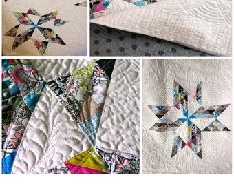 Breaking Clouds Quilt Pattern PDF