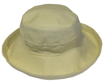 The Noosa Hat | Natural | Hemp | Narrow Brim