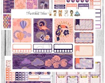 Freestyle Planning - Sunset Boulevard Kit - planner stickers