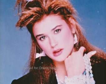 Demi Moore Beads and Bangles 4x6 photo