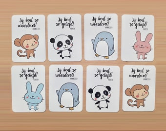 Cardset Baby Critters (4x2)