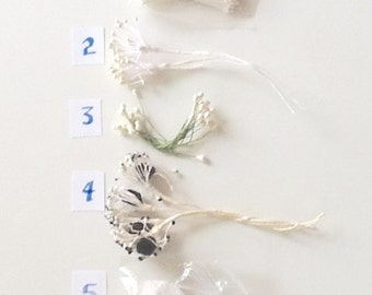 Floral Pips, Pearls, and Leaves