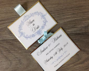 French Inspired Save the Date