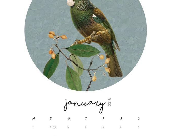 A5 Native Bird Calendar