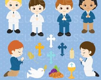 First communion clipart, christian clipart, communion clipart, digital clip art, digital images