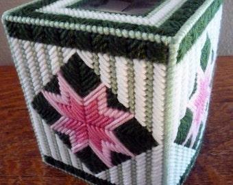 STARBURST & STRIPES - Boutique Size Tissue Box Cover