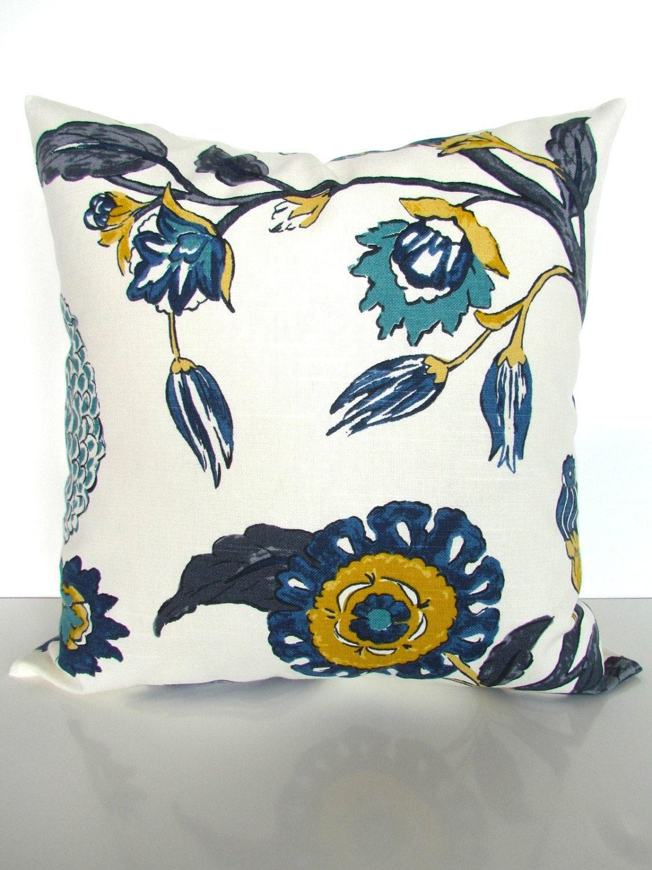 Teal Pillows Blue Throw Pillows Gray Pillows Navy Blue Throw
