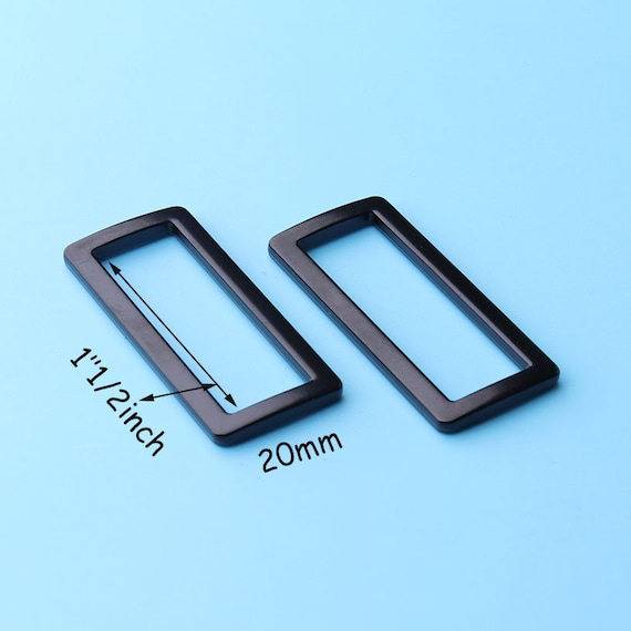 2pcs buckle loops Half roller buckles wire formed and belt