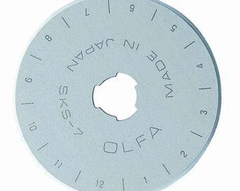 x1 Blade 45mm Olfa Rotary Cutter Replacement Spare Blade Model Number RB45-1
