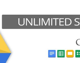 Google drive 30TB unlimited storage