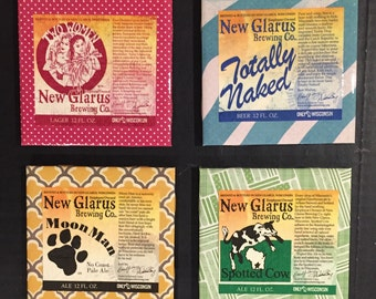 New Glarus Coasters - Variety Pack