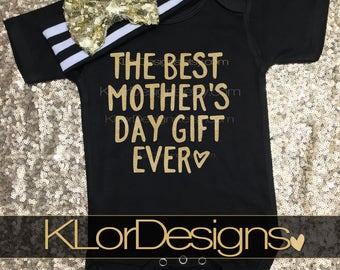 First Mothers Day, new mom, Mothers Day gift, Best Gift Ever, Mom Gift, Baby Girl, Mother's day gift, new mom gift, 1st Mothers Day, baby gi
